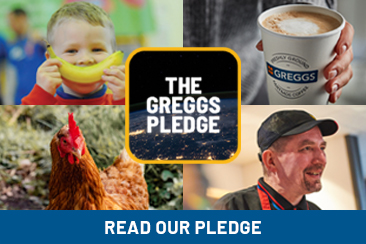 the-greggs-pledge-button